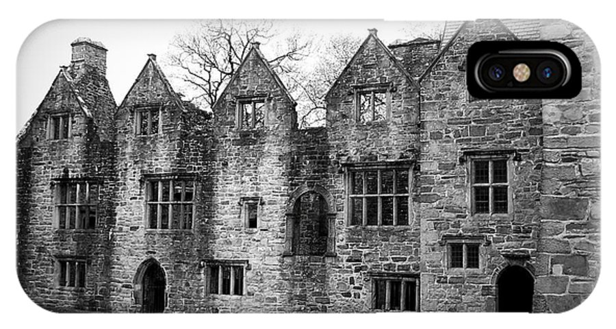 Irish IPhone X / XS Case featuring the photograph Jacobean Wing At Donegal Castle Ireland by Teresa Mucha