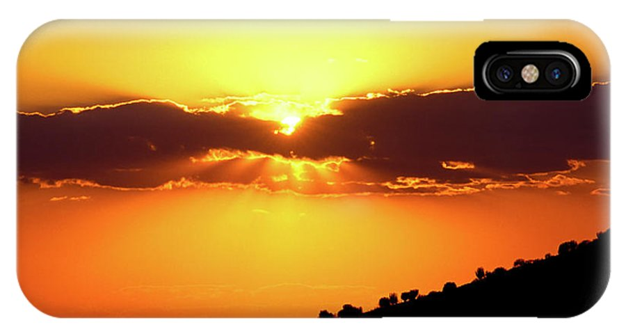 Landscape IPhone X / XS Case featuring the photograph Jalisco Sunset by Javier Flores