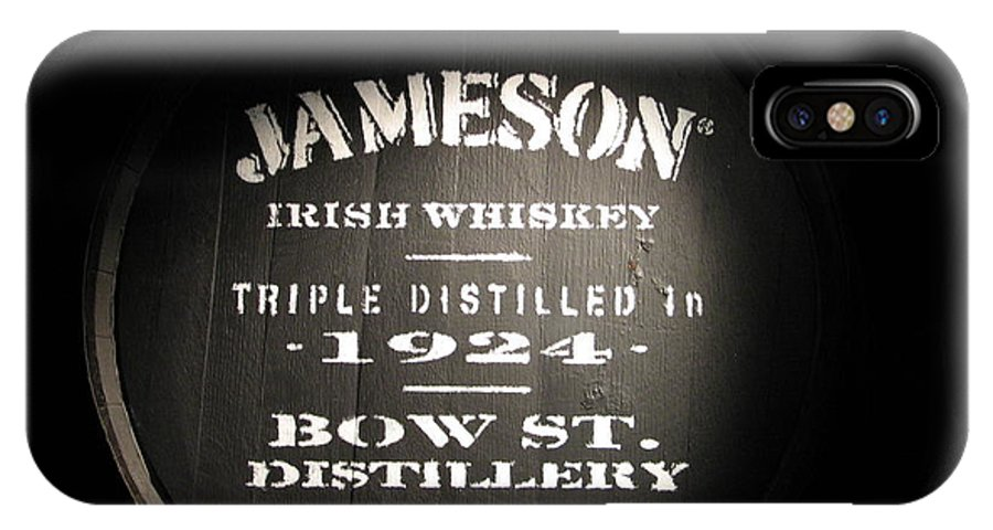 Jameson IPhone Case featuring the photograph Jameson by Kelly Mezzapelle
