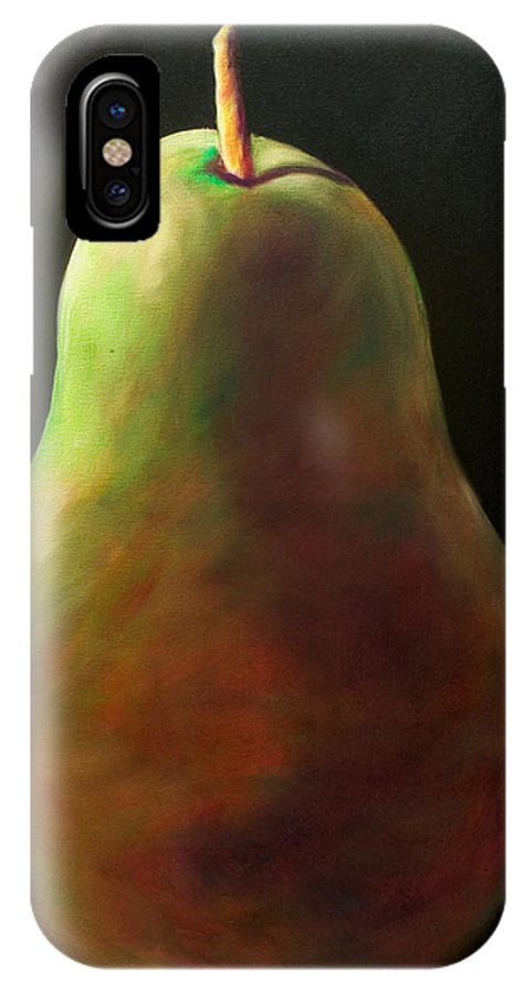 Pear IPhone Case featuring the painting Jan by Shannon Grissom