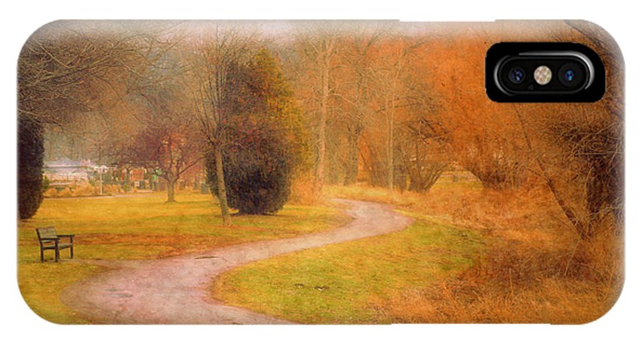 Road IPhone X Case featuring the photograph January 14 2010 by Tara Turner