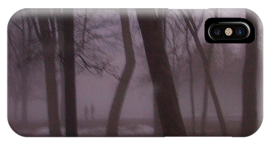 January IPhone Case featuring the photograph January Fog 1 by Anita Burgermeister