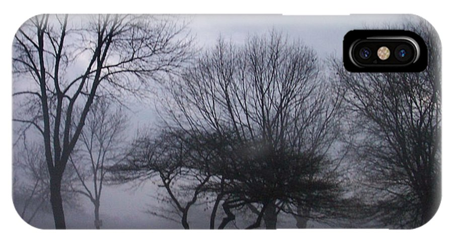 January IPhone Case featuring the photograph January Fog 6 by Anita Burgermeister