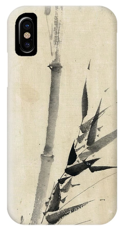 1850 IPhone X Case featuring the photograph Japan: Bamboo, C1830-1850 by Granger