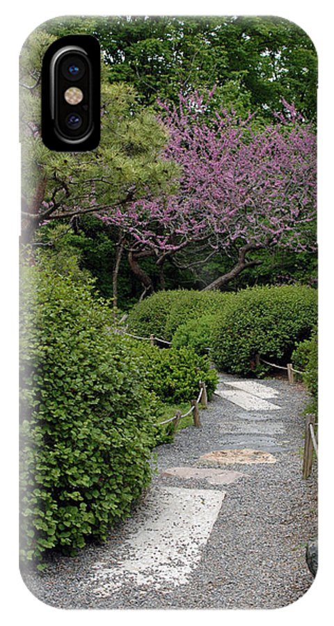 Japanese Garden IPhone Case featuring the photograph Japanese Garden I by Kathy Schumann