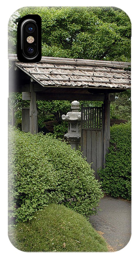 Japanese Garden IPhone Case featuring the photograph Japanese Garden by Kathy Schumann