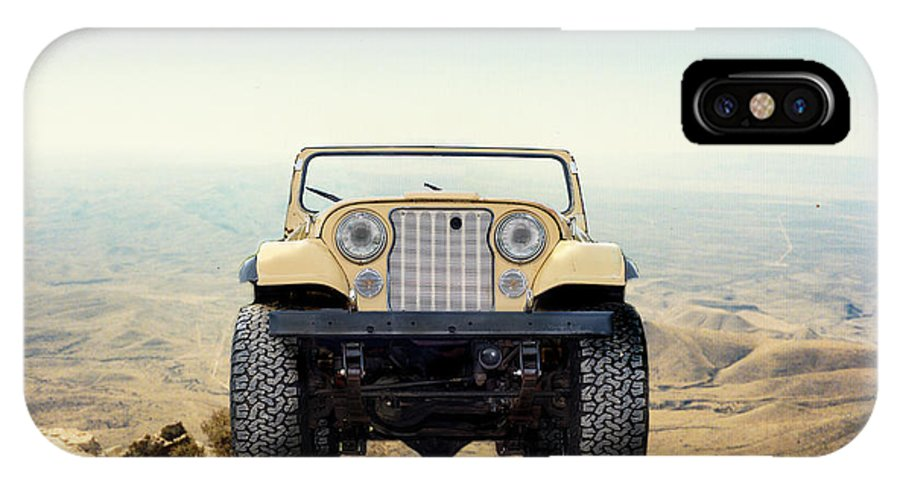 super popular aac96 5392b Jeep On Mountain IPhone X Case
