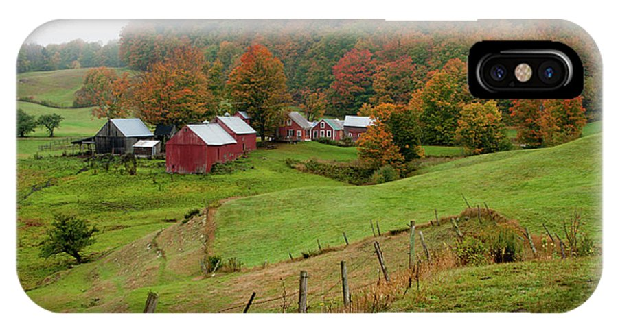 No People IPhone X / XS Case featuring the photograph Jenne Farm by Brett Pelletier