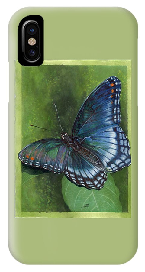 Insects IPhone Case featuring the mixed media Jewel Tones by Barbara Keith