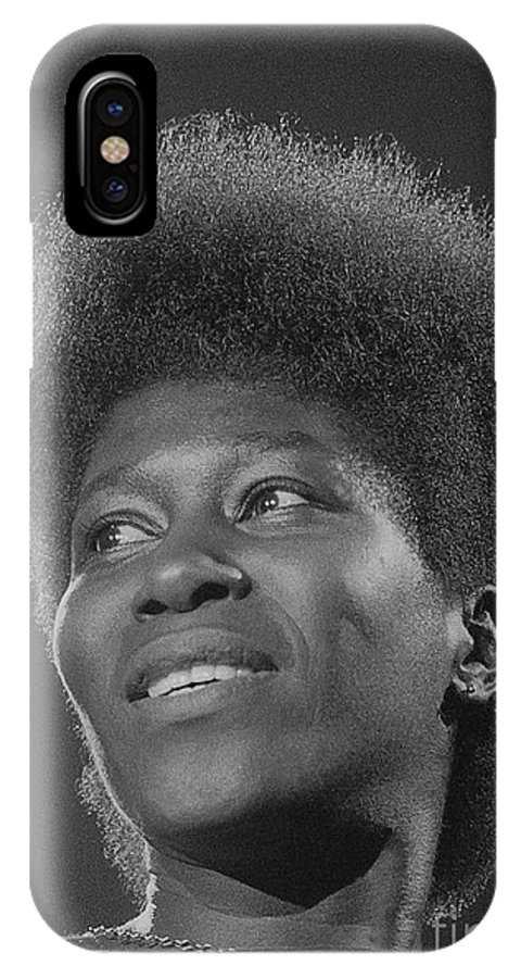 Photo IPhone X Case featuring the photograph Joan Armatrading 3 by Philippe Taka