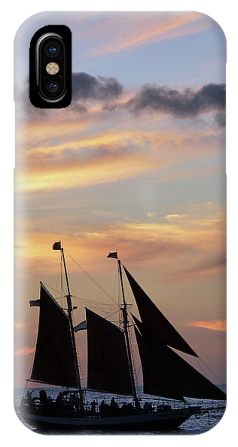 Jolly Roger IPhone X Case featuring the photograph Jolly Roger by Robert Shard
