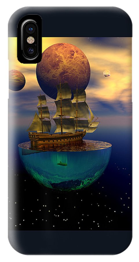 Bryce IPhone Case featuring the digital art Journey Into Imagination by Claude McCoy