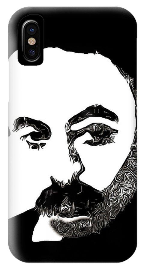 Jubran Khalil Jubran IPhone X Case featuring the photograph Jubran Khalil Jubran by Munir Alawi
