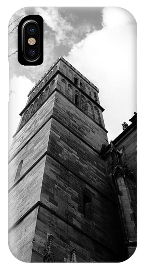 Cathedral IPhone X Case featuring the photograph Judgment by Dylan Punke