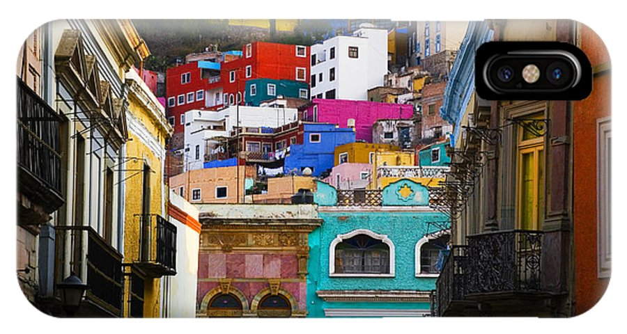 Architecture IPhone Case featuring the photograph Juegos In Guanajuato by Skip Hunt