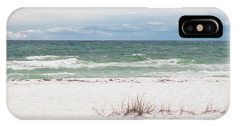 Pensacola Beach IPhone X Case featuring the photograph June Waves by Mechala Matthews