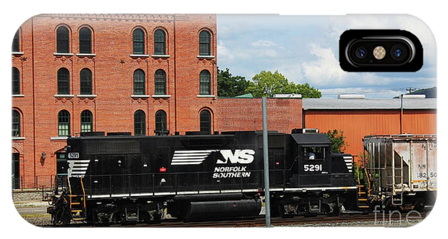 Trains IPhone X Case featuring the photograph Just Plain Train Love by BJ Doolittle Tuininga
