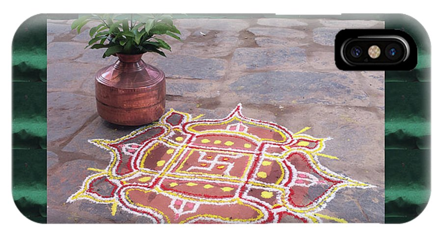 Kalash And Rangoli Indian Wedding Decorations N Religious Ritual
