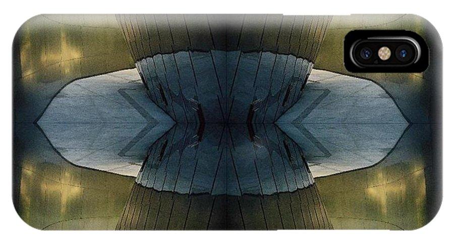 Kaleidoscope IPhone X Case featuring the photograph Kaleidoscope by Oscar Duran