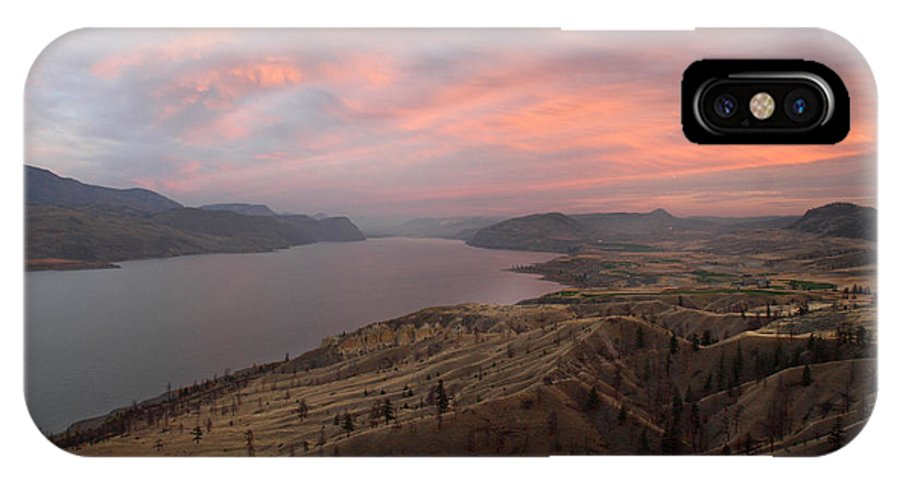 Kamloops IPhone X Case featuring the photograph Kamloops Lake British Columbia Canada by Pierre Leclerc Photography