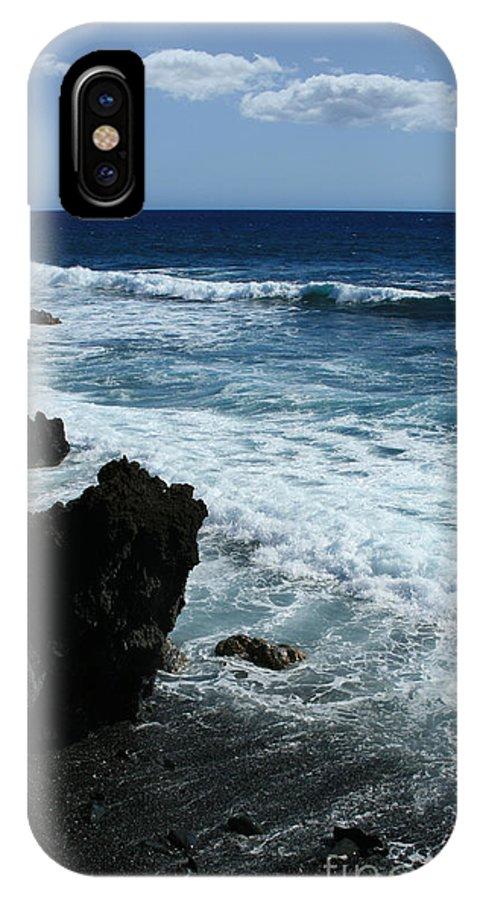 Aloha IPhone X Case featuring the photograph Kanaio Ahihi Kinau Maui Hawaii by Sharon Mau