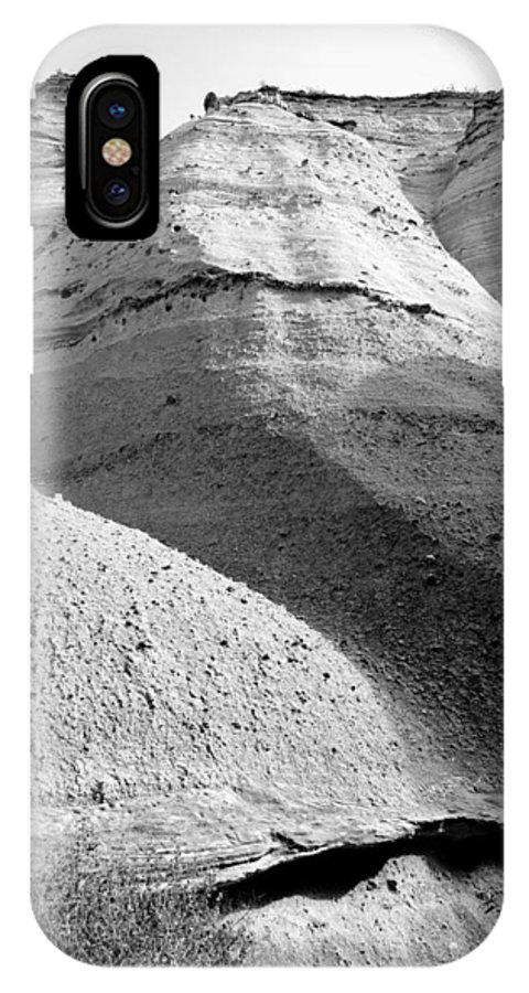 Rightfromtheart IPhone X Case featuring the photograph Kasha-katuwe Tent Rocks National Monument 8 by Bob and Kathy Frank