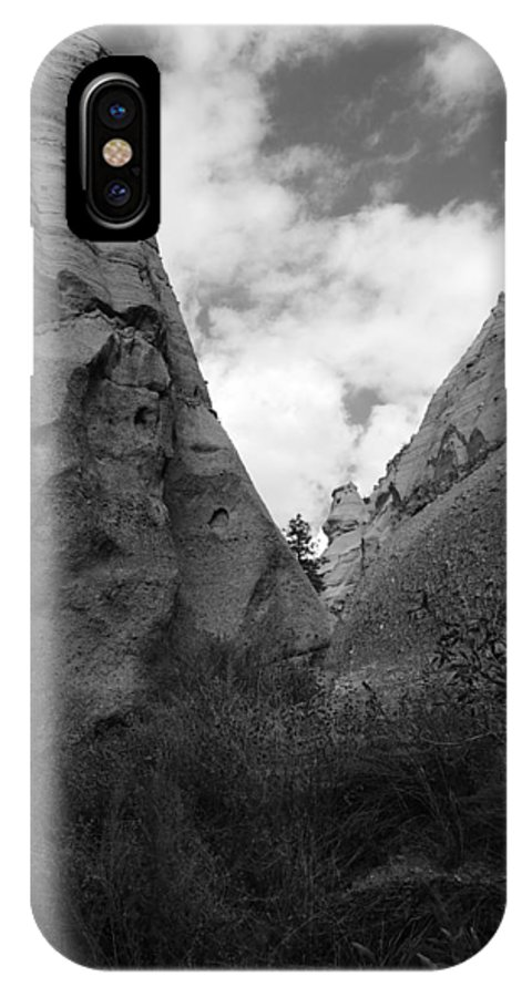 Rightfromtheart IPhone X Case featuring the photograph Kasha-katuwe Tent Rocks National Monument 9 by Bob and Kathy Frank