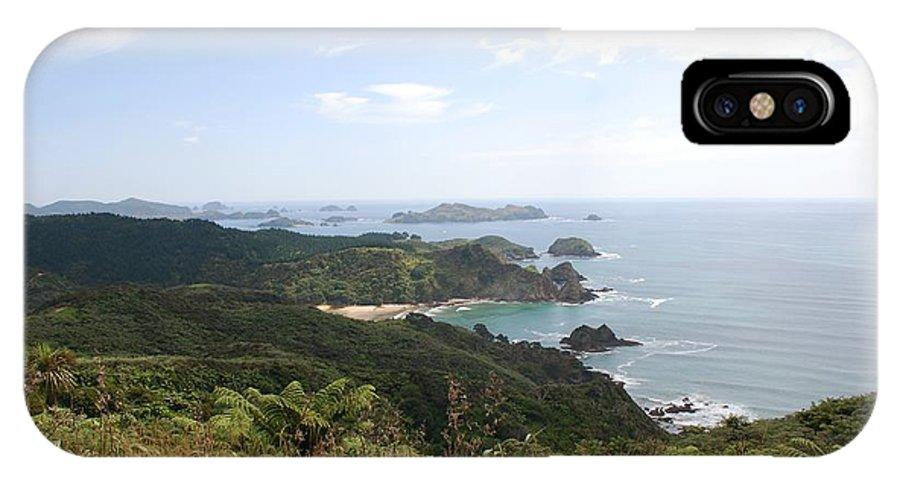 Landscape IPhone X Case featuring the photograph Kauri Cliffs Golf 2 New Zealand by Jan Daniels