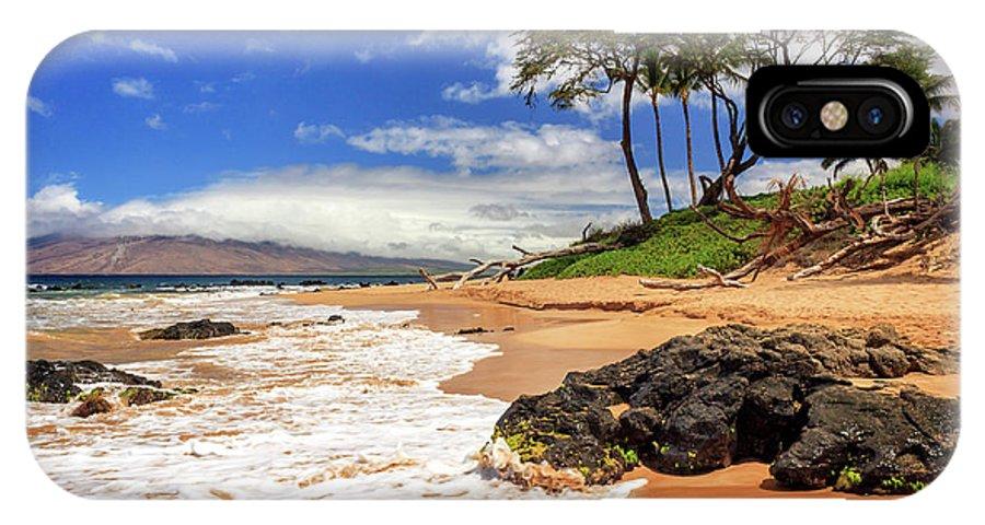 Keawakapu IPhone X Case featuring the photograph Keawakapu Beach - Mokapu Beach by James Eddy