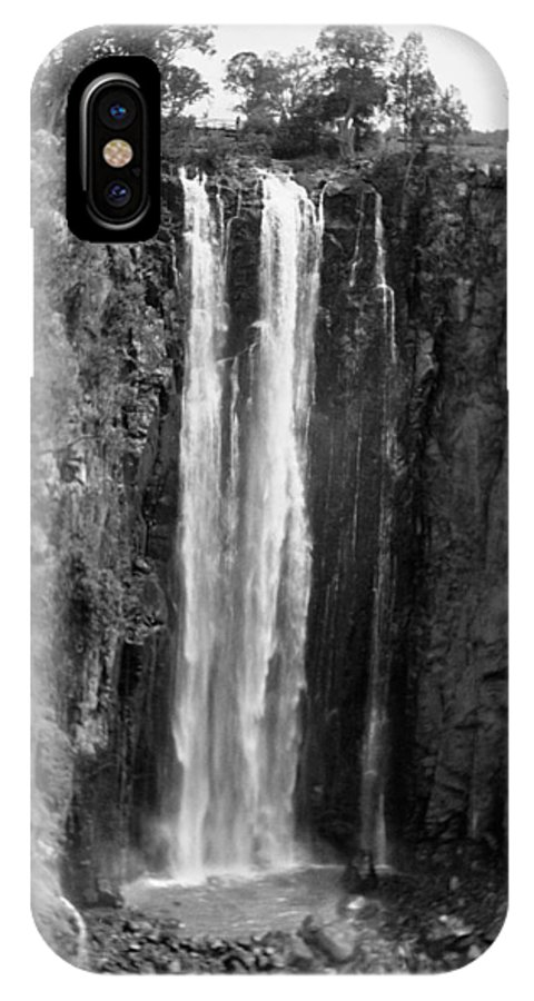 1936 IPhone X Case featuring the photograph Kenya: Thomsons Falls by Granger