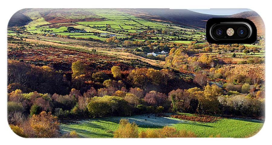 Kerry IPhone X Case featuring the photograph Kerry Ireland Autumn Landscape by Pierre Leclerc Photography