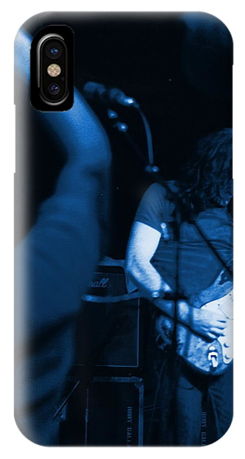 Rory Gallagher IPhone X Case featuring the photograph Kickback City Blues by Ben Upham