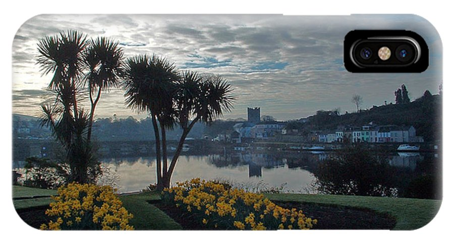 Landscapes Twin Towns IPhone X Case featuring the photograph Killaloe by Martina Fagan