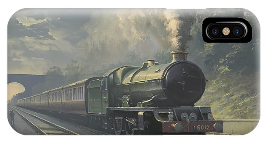 Steam IPhone Case featuring the painting King Edward Vi by Richard Picton