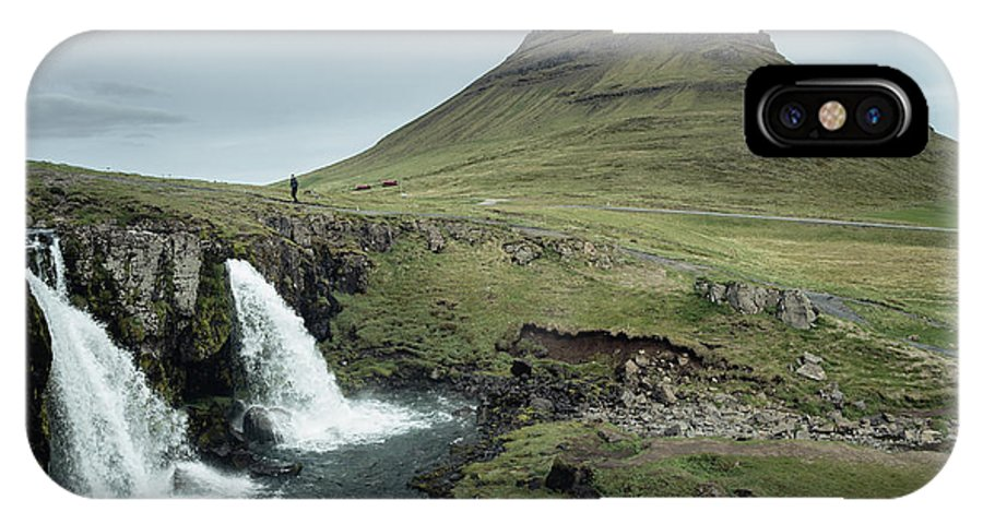 Iceland IPhone X Case featuring the photograph Kirkjufell, Iceland by Neil Tapman