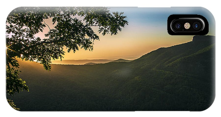 Sunrise IPhone X Case featuring the photograph Kissed By The Sun by William Bentley