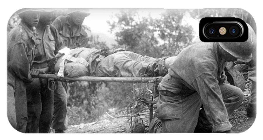 1952 IPhone X Case featuring the photograph Korean War, 1952 by Granger