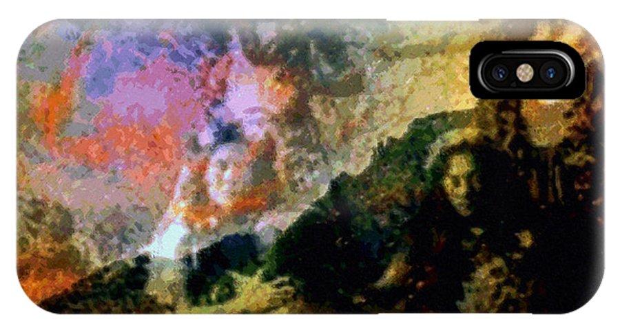 Rainbow Colors Digital IPhone Case featuring the photograph Kupua Hula by Kenneth Grzesik