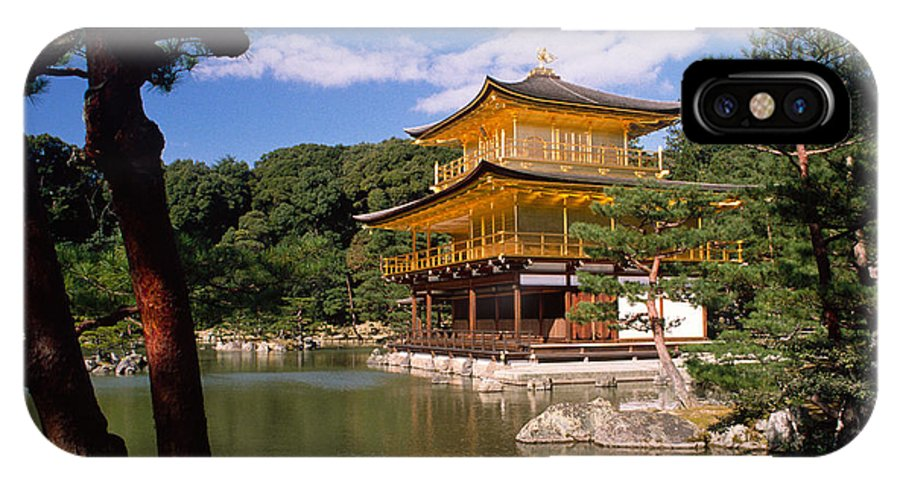 Asia IPhone X Case featuring the photograph Kyoto by Michele Burgess