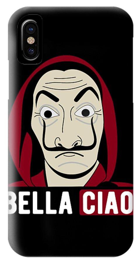 La Casa De Papel Lovers Bella Ciao Iphone X Case