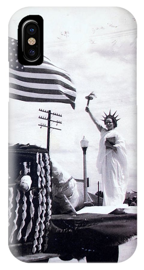 4th Of July IPhone Case featuring the photograph Lady Liberty by Kurt Hausmann