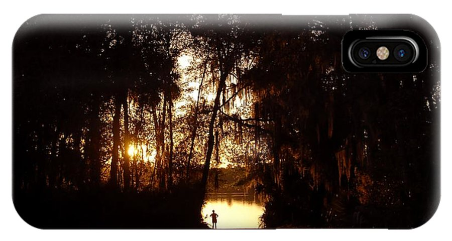 Lake IPhone X Case featuring the photograph Lady Of The Lake by David Lee Thompson