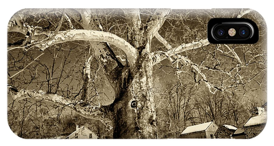 Sycamore Tree IPhone Case featuring the photograph Lafayette Headquarters by Jack Paolini