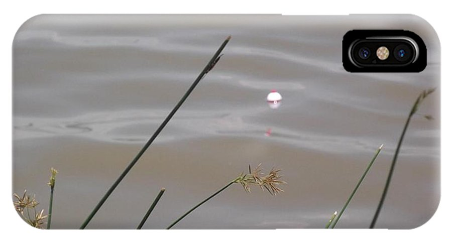 Fishing IPhone X / XS Case featuring the photograph Lago Yuriria by Laura Tolley Brown
