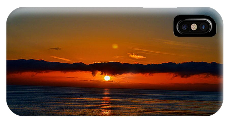 Sunset IPhone X Case featuring the photograph Laguna Beach Sunset by Tommy Anderson