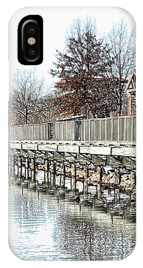 Lakes IPhone Case featuring the photograph Lake by Amanda Barcon