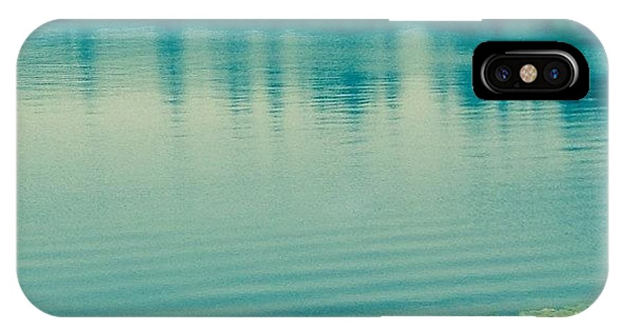 Lake IPhone X Case featuring the photograph Lake by Andrew Redford