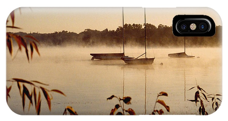 Landscape IPhone X / XS Case featuring the photograph Lake Calhoun by Kathy Schumann