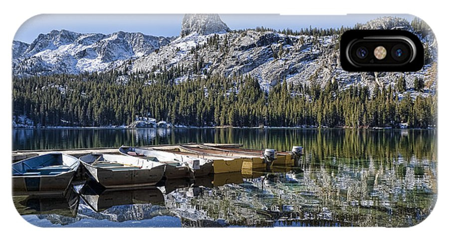 Water IPhone X Case featuring the photograph Lake George by Kelley King