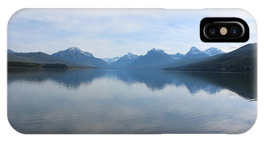 Travel IPhone X / XS Case featuring the photograph Lake Mcdonald by Nicholas Miller